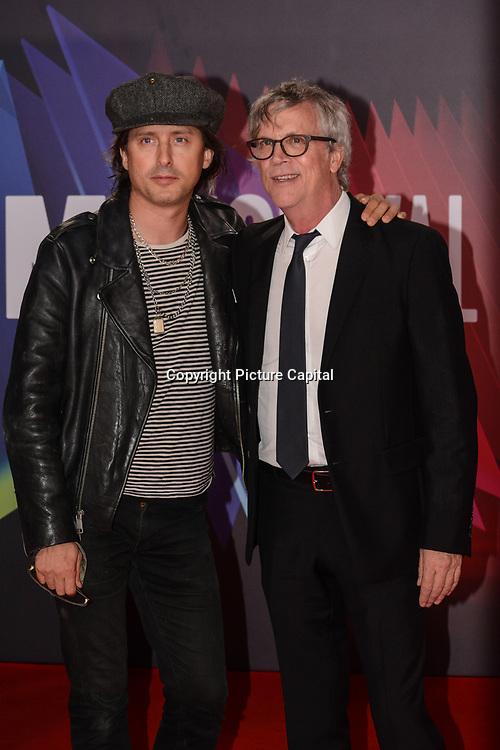 Carl Barat and Todd Haynes arrives at The Velvet Underground - UK Film Premieres 2021 at Southbank Centre, Royal Festival Hall, London, 8 October 2021.