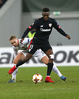 LVIV, UKRAINE - DECEMBER 07: Iñaki Williams of Athletic Bilbao.  UEFA Europa League Group J match between Zorya Luhansk and Athletic Bilbao at Arena Lviv in Lviv, Ukraine. December 07, 2017