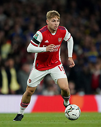 File photo dated 22-09-2021 of Arsenal's Emile Smith Rowe. Emile Smith Rowe has vowed to ignore any talk of a senior call-up after scoring England Under-21s' winner in Monday's Euro 2023 qualifier in Andorra. Issue date: Tuesday October 12, 2021.