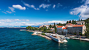 Town of Preko, Ugljan Island, Dalmatian Coast, Croatia