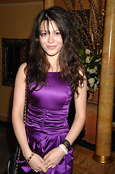 Actress NATHALIE LUNGHI at the Chain of Hope Ball held at The Dorchester, Park Lane, London on 4th February 2008.<br /><br />NON EXCLUSIVE - WORLD RIGHTS