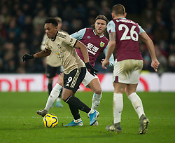 Anthony Martial of Manchester United (L) and Jeff Hendrick of Burnley in action - Mandatory by-line: Jack Phillips/JMP - 28/12/2019 - FOOTBALL - Turf Moor - Burnley, England - Burnley v Manchester United - English Premier League