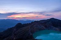 Kelimutu Volcano at Sunrise, Flores, Indonesia