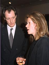 The HON.AMSCHEL ROTHSCHILD & MRS ROTHSCHILD in 1993.
