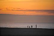 Frankrijk, Ouistreham, 12-5-2013Zonsondergang op het strand van deze badplaats in Normandie.Foto: Flip Franssen/Hollandse Hoogte