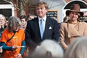Staatsbezoek Denemarken - Dag 2. Bezoek van eiland Bezoek Samso<br /> <br /> State visit Denmark - Day 2. Visit to the island of Samso<br /> <br /> op de foto / On the photo:  Koning Willem Alexander en Koningin Maxima / King Willem Alexander and Queen Maxima