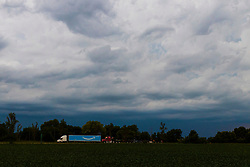 Thunderstorms in the evening on an August day in Central Illinois.  Rain, Lightning, and cloud formations were abundant.