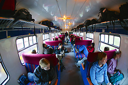 Travelers Train From Cuzco To Aguas Calientes