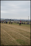 The Heythrop Hunt Point to Point. Cockle barrow. 25 January 2015