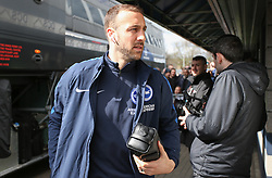 Glenn Murray of Brighton and Hove Albion steps off the coach - Mandatory by-line: Arron Gent/JMP - 17/03/2019 - FOOTBALL - The Den - London, England - Millwall v Brighton and Hove Albion - Emirates FA Cup Quarter Final