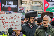 National Palestine March and Rally - Justice Now: Make it right for Palestine. As the centenary of the Balfour Declaration has just passed on the 2nd November. Speakers addressed the crowd at Grosvenor Square (by the US Embassy) before the march through central London (via Piccadilly Circus and Trafalgar Square). This was followed by a rally in Parliament Square, where speakers again addressed the crowd.