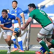 Roma 27/02/2021, Stadio Olimpico<br /> Guinness Six Nations 2021<br /> Italia vs Irlanda <br /> <br /> Callum Braley