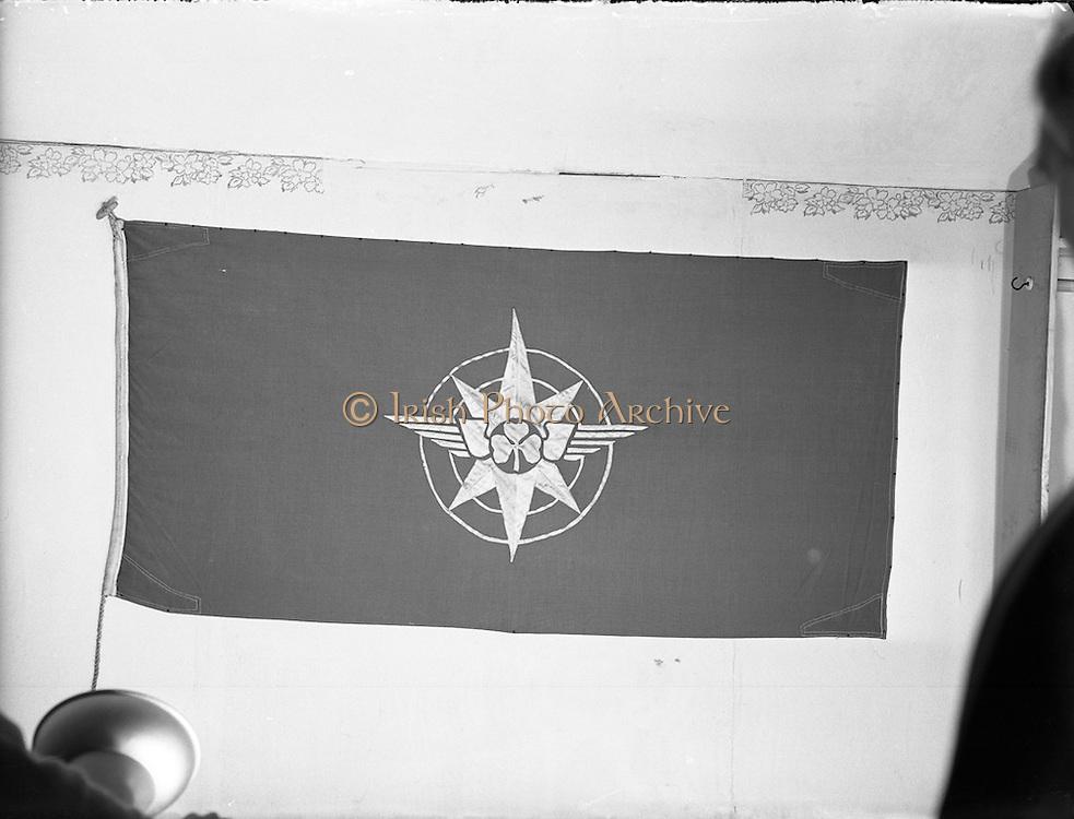 09/12/1957<br /> 12/09/1957<br /> 09 December 1957<br /> <br /> Special for Aer Lingus - Flag at Office