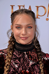 Maddie Ziegler attends the Weinstein Company's LEAP! premiere at the Grove Theatre on August 19, 2017 in Los Angeles, California. Photo by Lionel Hahn/AbacaPress.com