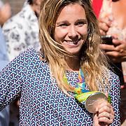 NLD/Den Haag/20160824 - Huldiging sporters Rio 2016, Ellen Hoog