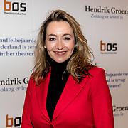 NLD/Amsterdam/20191211 - Hendrik Groen-voorstelling in premiere, Cynthia Abma