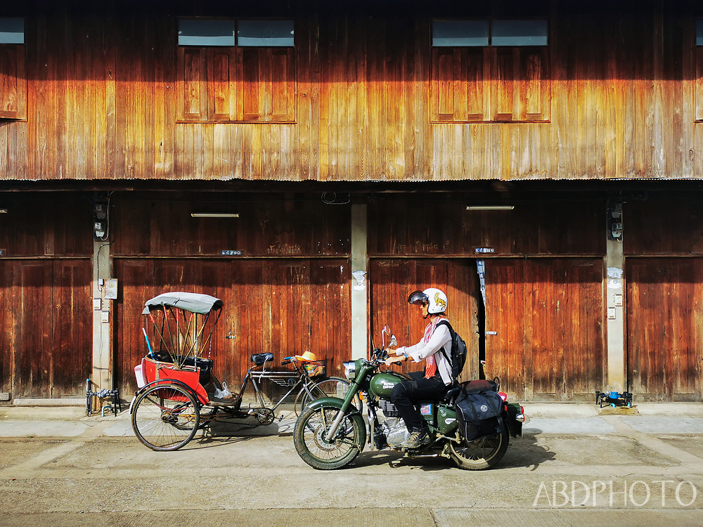 Phrae แพร่ in Northern Thailand