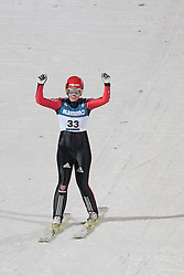 24.11.2012, Lysgards Schanze, Lillehammer, NOR, FIS Weltcup, Ski Sprung, Damen, im Bild Vogt Carina (GER) during the womens competition of FIS Ski Jumping Worldcup at the Lysgardsbakkene Ski Jumping Arena, Lillehammer, Norway on 2012/11/23. EXPA Pictures © 2012, PhotoCredit: EXPA/ Federico Modica