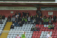 Forest Green Rovers fans during the EFL Sky Bet League 2 match between Stevenage and Forest Green Rovers at the Lamex Stadium, Stevenage, England on 21 October 2017. Photo by Adam Rivers.