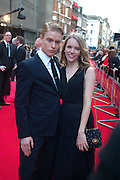 FREDDIE FOX; TAMZIN MERCHANT, Olivier Awards 2012, Royal Opera House, Covent Garde. London.  15 April 2012.