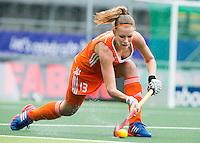 DEN HAAG - CAIA VAN MAASAKKER. Nederland speelt oefenwedstrijd tegen USA in het Kyocera Stadion. COPYRIGHT KOEN SUYK