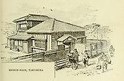 Mission Room, Tokushima, Japan from the book ' Rambles in Japan : the land of the rising sun ' by Tristram, H. B. (Henry Baker), 1822-1906. Publication date 1895. Publisher New York : Revell