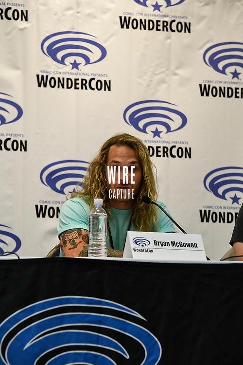 Bryan McGowan at Wondercon in Anaheim Ca. March 31, 2019