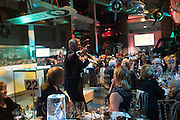 ED RISING- AUCTIONEER, Action Against Cancer 'A Voyage of Discovery' fundraising dinner at the Science Museum on Wednesday 14 October 2015.