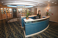 Royal Caribbean International's  Independence of the Seas, the world's largest cruise ship.....Spa Reception *** Local Caption *** Spa reception