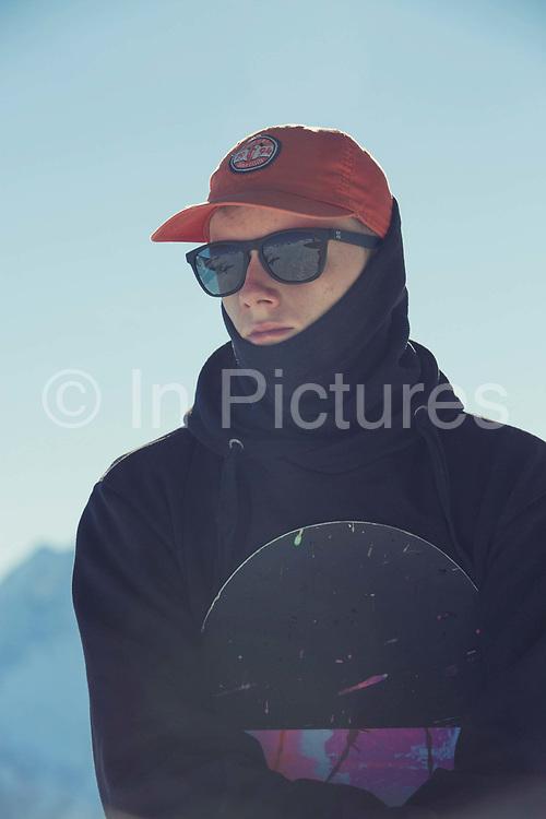 British Olympic Freestyle Snowboarder Matt McCormick during the Laax Open on 20th January 2017 in Laax Ski Resort, Switzerland.