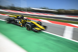 May 11, 2018 - Barcelona, Catalonia, Spain - NICO HULKENBERG (GER) drives during the second practice session of the Spanish GP at Circuit de Catalunya in his Renault RS18 (Credit Image: © Matthias Oesterle via ZUMA Wire)