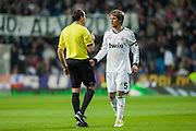 Coentrao protest to the referee