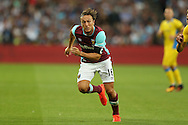Mark Noble, West Ham United captain in action. UEFA Europa league, 3rd qualifying round match, 2nd leg, West Ham Utd v NK Domzale at the London Stadium, Queen Elizabeth Olympic Park in London on Thursday 4th August 2016.<br /> pic by John Patrick Fletcher, Andrew Orchard sports photography.