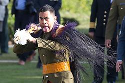 June 7, 2017 - Mesen, BELGIUM - Illustration picture shows the New-Zealand National commemoration of the centenary of the battle of Messines ridge, in Mesen (Messines), Wednesday 07 June 2017. Today (07/06/2017) marks the 100th anniversary of the start of the 'Mijnenslag'  (Mines Battle) at Mesen, during the first World War. ..BELGA PHOTO KURT DESPLENTER (Credit Image: © Kurt Desplenter/Belga via ZUMA Press)