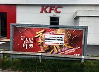 Kfc Banbury  has closed due to the  Coronavirus photo michael butterworth