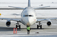 First Air 737-200 taxiing on the ramp