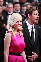 Kirsten Dunst, Garret Hedlund,  at the On The Road gala screening red carpet at the 65th Cannes Film Festival France. The film is based on the book of the same name by beat writer Jack Kerouak and directed by Walter Salles. Wednesday 23rd May 2012 in Cannes Film Festival, France.