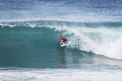 December 11, 2017 - Haleiwa, Hawaii, U.S. - Kolohe Andino (USA) placed 3rd in Heat 8 of  Round One at the Billabong Pipe Masters 2017 in Pipe  Oahu, Hawaii , USA..Billabong Pipe Masters 2017. (WSL via ZUMA Wire/ZUMAPRESS.com)