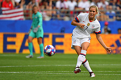 USA's Abby dahlkemperduring the 2019 FIFA Women's World Cup Round Of 16 match Spain v USA at Stade Auguste Delaune on June 24, 2019 in Reims, France. USA won 2-1 reaching the quarter-finals. Photo by Christian Liewig/ABACAPRESS.COM