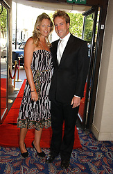BEN FOGLE and MARINA HUNT at the Boodles Boxing Ball in aid of the sports charity Sparks  organised by Jez lawson, James Amos and Charlie Gilkes held at The Royal Lancaster Hotel, Lancaster Terrae London W2 on 3rd June 2006.<br /><br />NON EXCLUSIVE - WORLD RIGHTS