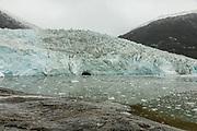 Patagonia, cruising with Ventus Australis. Alberto de Agostini nationa Park, Pia Glacier