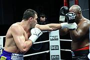 BOXEN: EC Boxing, Fightnight, Schwergewicht, Hamburg, 13.03.2021<br /> Victor Faust (GER, UKR) - Wilmer Vasquez (VEN)<br /> © Torsten Helmke