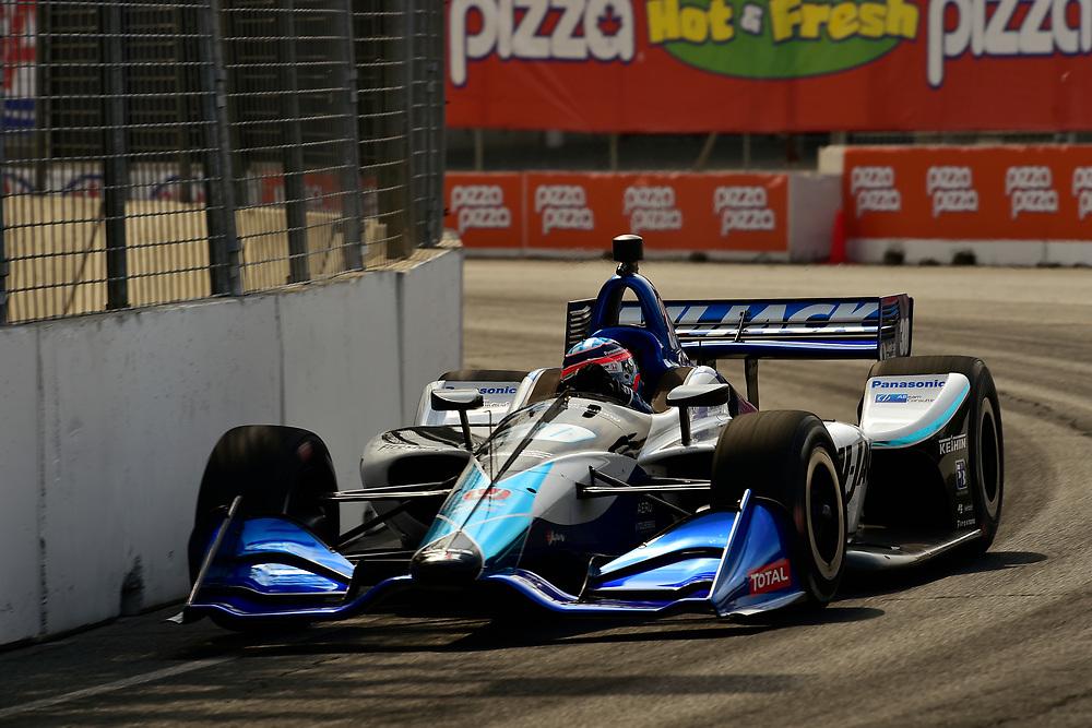 Takuma Sato, Rahal Letterman Lanigan Racing Honda<br /> Saturday 14 July 2018<br /> Honda Indy Toronto<br /> Verizon IndyCar Series<br /> Streets of Toronto ON CAN<br /> World Copyright: Scott R LePage