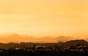 Chisos Mountains near Terlingua, Texas.