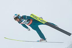 Jarkko Maatta (FIN) // Jarkko Maatta of Finland flying in the air during Trial Round at Day 1 of FIS Ski World Flying Championship Planica 2020, on December 10, 2020 in Planica, Kranjska Gora, Slovenia. Photo by Vid Ponikvar / Sportida