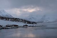 Andørja (Troms, Norway) in winter