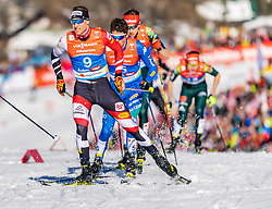 28.02.2019, Seefeld, AUT, FIS Weltmeisterschaften Ski Nordisch, Seefeld 2019, Nordische Kombination, Langlauf, im Bild Bernhard Gruber (AUT) // Bernhard Gruber of Austria during the Cross Country Competition of Nordic Combined for the FIS Nordic Ski World Championships 2019. Seefeld, Austria on 2019/02/28. EXPA Pictures © 2019, PhotoCredit: EXPA/ Stefan Adelsberger