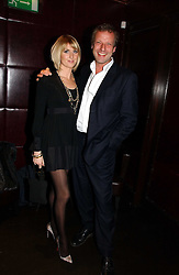 LADY EMILY COMPTON and HUGO BURNAND at The Christmas Cracker - an evening i aid of the Starlight Children's Charity held at Frankies, Knightsbridge on 13th December 2006.<br />