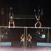 Kerstshow Groot Russisch Staatscircus, acrobaten