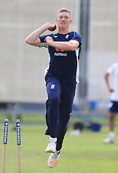 England's Keaton Jennings during the nets session at Lord's, London. PRESS ASSOCIATION Photo. Picture date: Tuesday July 4, 2017. See PA story CRICKET England. Photo credit should read: Nigel French/PA Wire. RESTRICTIONS: Editorial use only. No commercial use without prior written consent of the ECB. Still image use only. No moving images to emulate broadcast. No removing or obscuring of sponsor logos.